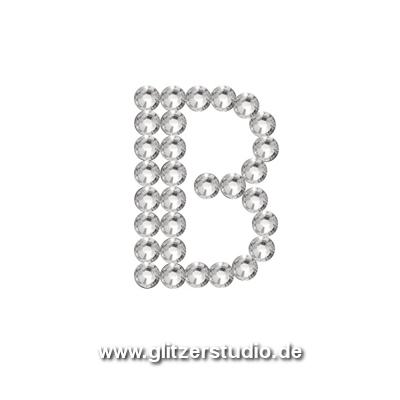 buchstabe b strassmotive b gelbilder strasssteine. Black Bedroom Furniture Sets. Home Design Ideas