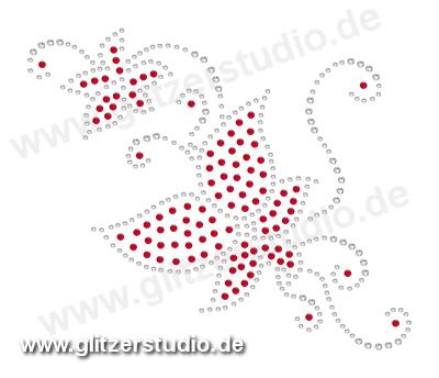 Hotfix Motive Design46 - Strassmotive Bügelbilder Strasssteine